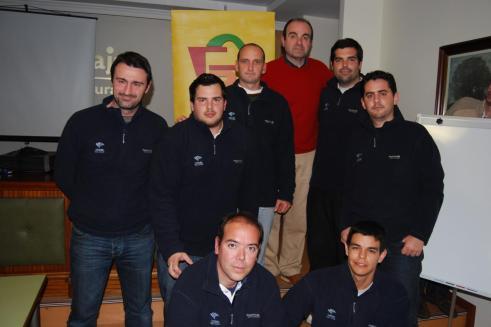 Con Trifón Poch (Clínic para entrenadores)